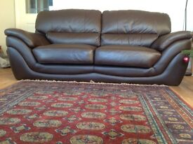 In excellent condition - chunky cosy sofa