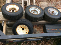Tires on small rims