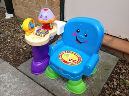 Fisher price kids baby toddler learning chair toy Panania Bankstown Area Preview