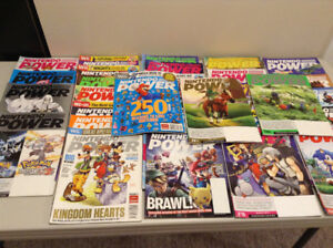 Lot of Nintendo Power Magazines