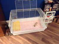 grande cage pour !!! hamster,lapin,etc......usager