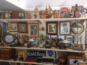 Garage Sale..antiques, collectables, steam punk lamps...much mor Windsor Region Ontario image 2
