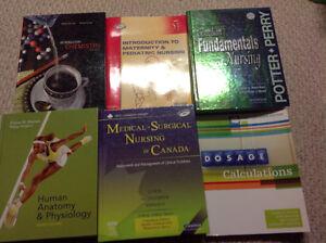 Nursing and GAS Health textbooks