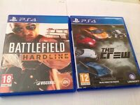 Battlefield Hardline & The Crew PS4 Games PlayStation