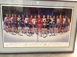 NHL 500 Goal Scorers - SIGNED LITHOGRAPH