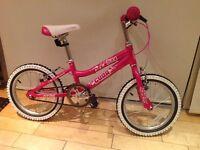 """Cuda """"Blox"""" girls bike (3-6yo). As new."""