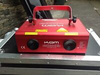 Disco laser kam starcluster 3d dmx