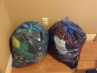 2 big bags of clothing for boy