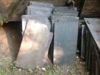 40 used roofing slates