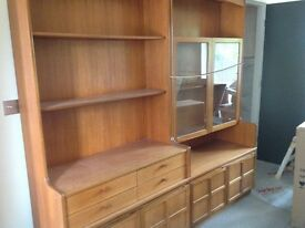 70s vintage teak units by Nathan Cabinet REDUCED PRICE