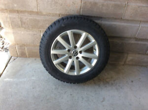 Four (4) Winter Tires for VW Passat or Beetle