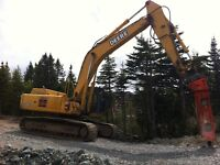 Excavator and Buster For Sale