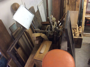 Rustic antique reclaimed wood pcs perfect for any art project