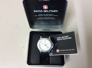 """Montre Militaire Swiss - 100M / """"Military Swiss Watch"""""""