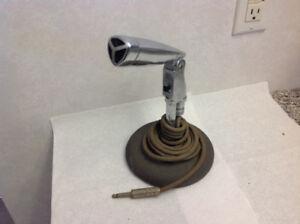 Antique Ampex microphone