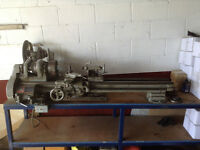 """9"""" South Bend Lathe Model A with table stand"""