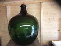 Large glass planter