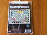 Dimensions Senility Prayer Stamped Cross Stitch Kit