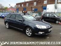 2010 (10 Reg) Citroen C5 2.0HDi 160hp VTR+ NAV 5DR Estate BLUE