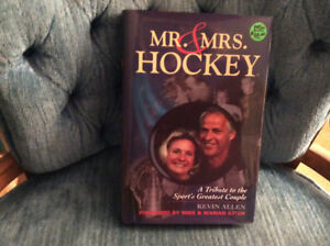 """New Hardcover Book, """"Mr and Mrs Hockey....Tribute to the Howe's"""""""