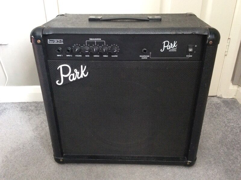 park by marshall bass guitar amp 12 inch speaker gb25 12 in bournemouth dorset gumtree. Black Bedroom Furniture Sets. Home Design Ideas
