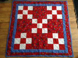 Homemade Cowboy Quilt! Great baby gift!