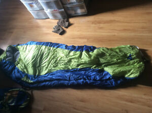 2 BACK PACKS HIP WADERS AND CAMPING GEAR and more