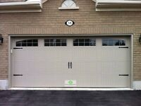 16x7 INSULATED CARRIAGE GARAGE DOORS.......... $1300 INSTALLED