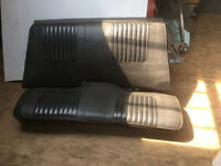 CHALLENGER/CUDA ' E ' BODY SEATS. ONLY $150.00