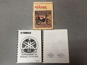 Yamaha xt 550 factory manuals