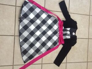size 10 girls special occasion dress black and white Gatineau Ottawa / Gatineau Area image 1