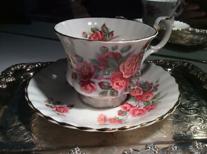 English China Teacups and Saucers - $9.99 each