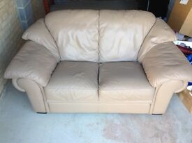 Barker and Stonehouse 2 seater leather sofa,