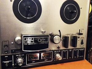 Vintage reel to reel Tape deck