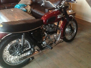 Triumph 1970 Tiger (excellent condition)