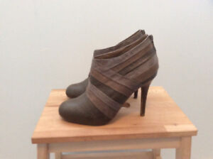 *BRAND NEW* Olive Heeled Bootie by Spring