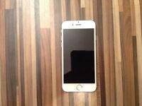 iPhone 6 ~12 Months Apple warranty~ UNLOCKED ~ MINT white/silver 16gb