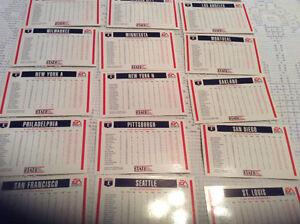 Cartes statistiques de baseball Gatineau Ottawa / Gatineau Area image 4