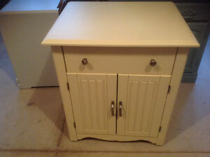 Cabinet on casters