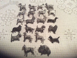 Animaux miniatures en métal