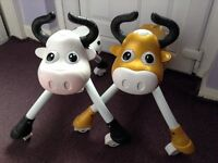 Moo cow kids ride on scuttle bug