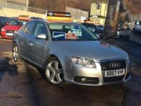 Audi A4 2.0TDI 2007MY S Line **FINANCE AVAILABLE**