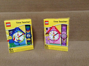 LEGO SET TIME TEACHER CLOCK & WATCH