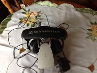 Sennheiser cordless headphones(HDR 120)with charging stand