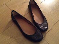 Ugg black shoes