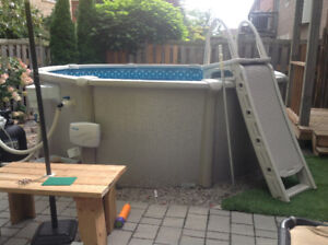 2 year old above ground pool
