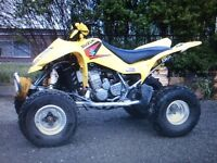 2004 SUZUKI LTZ 400 SPORTS QUAD.