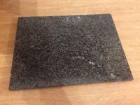 Black granite work top saver