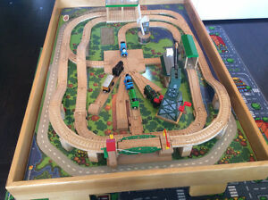 Custom Made Train Table with Authentic Thomas Train and Track Stratford Kitchener Area image 3