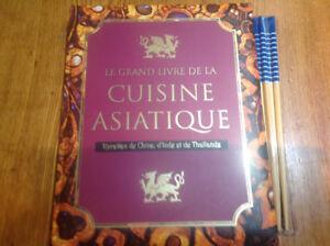 Le grand livre de la cuisine asiatique. Parragon.